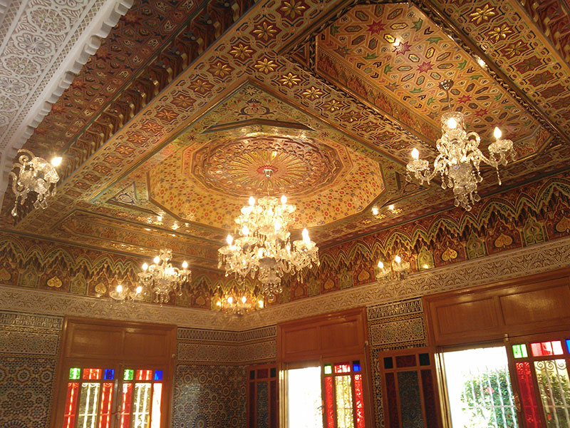 Villa vendre f s route mouzzer f s immobilier for Decoration maison au maroc